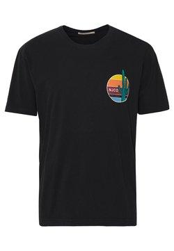 Nudie Jeans - UNO - T-shirt med print - black