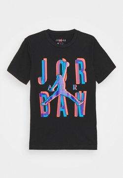 Jordan - SPACE EXPLORATION TEE UNISEX - T-shirt print - black