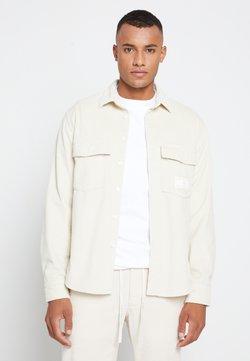 Tommy Hilfiger - LEWIS HAMILTON UNISEX CHUNKY CORDUROY SHIRT - Camicia - light silt