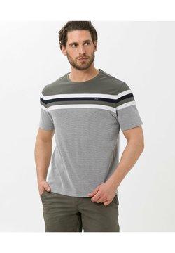 BRAX - STYLE TERRY - T-Shirt print - khaki
