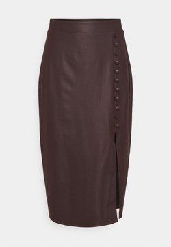 KENDALL + KYLIE - SKIRT - Pencil skirt - brown