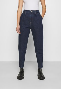 Tommy Jeans - RETRO MOM JEAN OLDBCF - Relaxed fit jeans - oslo dark blue com