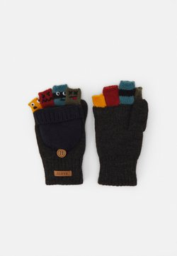 Barts - PUPPETEER BUMGLOVES - Fingerhandschuh - dark heather