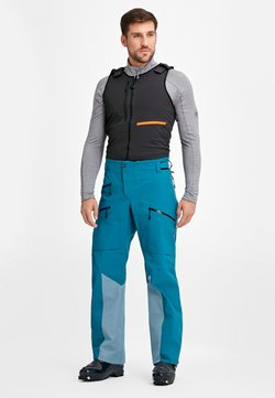 Mammut - LA LISTE PRO - Spodnie narciarskie - sapphire