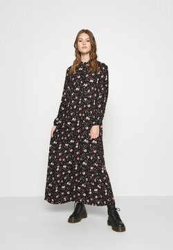 Vero Moda - VMFLORA MAXI DRESS - Maxi-jurk - black