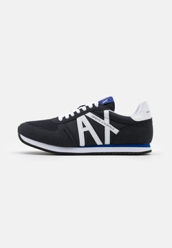 Armani Exchange - RIO - Sneaker low - navy/white