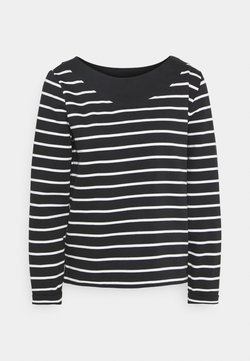 Esprit - STRIPED - Sweatshirt - black
