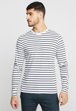 Bellfield - BRETON STRIPE  - Long sleeved top - white