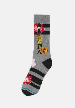 Stance - ALOHA HIBISCUS - Socken - heather grey