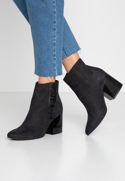 Tommy Jeans - TOMMY JEANS ZIP MID HEEL BOOT - High Heel Stiefelette - black