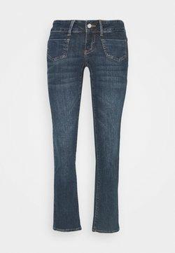 Vero Moda Petite - VMDINA - Flared Jeans - dark blue denim