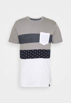 INDICODE JEANS - SILKEBORG - T-shirts print -  grey