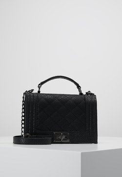 Gina Tricot - MIA BAG - Schoudertas - mottled black