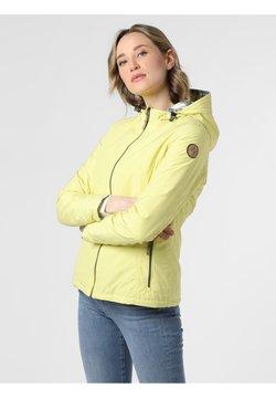 Marie Lund - Daunenjacke - gelb grau