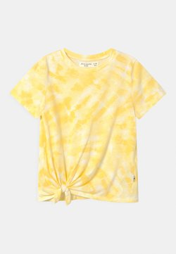 Abercrombie & Fitch - T-shirt con stampa - yellow