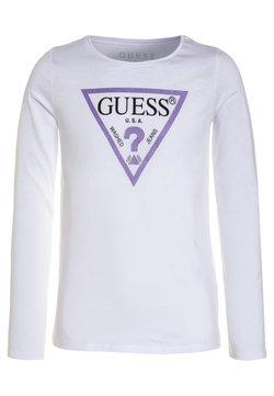 Guess - Bluzka z długim rękawem - true white