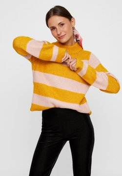 Pieces - Strickpullover - yellow