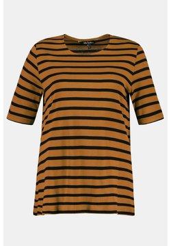 Ulla Popken - T-Shirt print - caramel