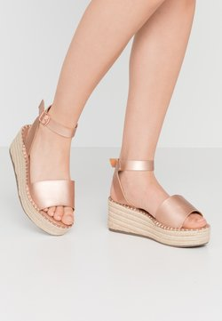 New Look Wide Fit - WIDE FIT POPPINS - Espadrille - rose gold
