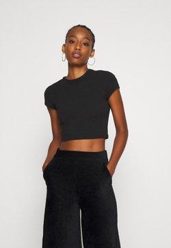 Weekday - SABRA - Basic T-shirt - black