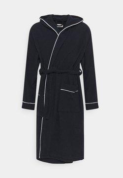 Pier One - Dressing gown - dark blue/white