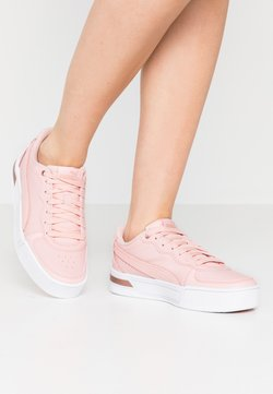 Puma - SKYEMETALLIC - Matalavartiset tennarit - peachskin/rose gold