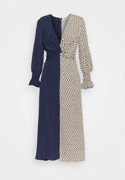 Diane von Furstenberg - MICHELLE - Vestido largo - ivory/navy