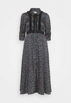 byTiMo - BUTTON DRESS - Blusenkleid - dark blue