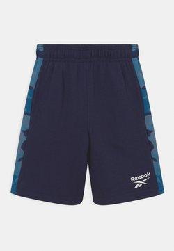 Reebok - CAMO - Jogginghose - blue