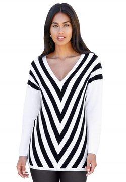 Amy Vermont - Strickpullover - schwarz,weiß