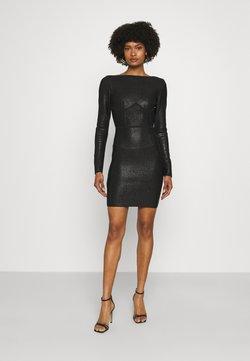 Hervé Léger - HERVE LEGER X JULIA RESTOIN ROITFELD DISCO OPEN BACK MINI DRESS - Cocktailkleid/festliches Kleid - black