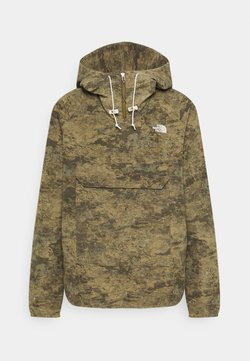The North Face - PRINTED CLASS FANORAK - Outdoorjacke - olive