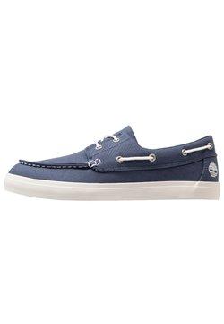 Timberland - UNION WHARF 2 EYE - Chaussures bateau - dark blue