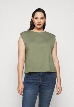 Pieces Curve - PCLIZ - T-shirt basic - deep lichen green