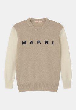Marni - UNISEX - Stickad tröja - beige