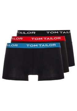 TOM TAILOR - 3 PACK - Shorty - black