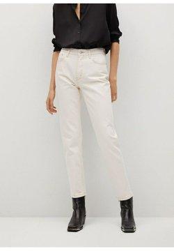 Mango - Straight leg jeans - ecru