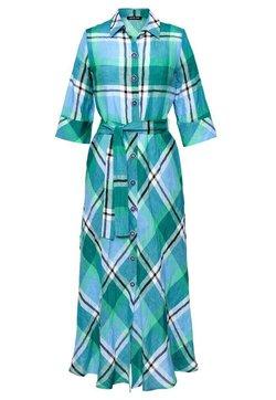 Hexeline - Długa sukienka - niebieski