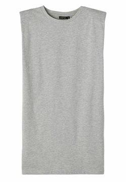 LMTD - Jerseykleid - light grey melange