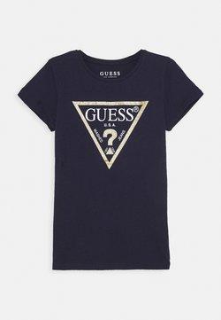 Guess - JUNIOR CORE - T-shirt z nadrukiem - duke blue