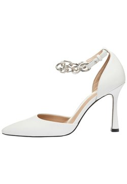 Next - ANKLE CHAIN - Korolliset avokkaat - white