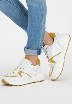 NoGRZ - Sneakers laag - white/oker