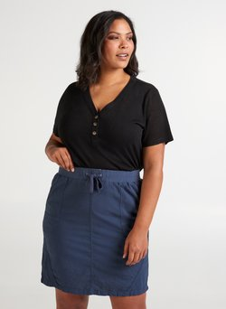 Zizzi - Basic T-shirt - black