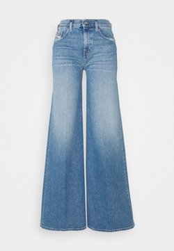 Diesel - D-AKEMI - Flared Jeans - light blue