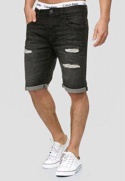 INDICODE JEANS - CUBA CADEN - Jeans Shorts - black