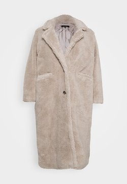 Simply Be - LONGLINE COAT - Mantel - mink