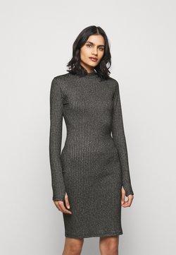 HUGO - NIMBERLY - Vestido de punto - black
