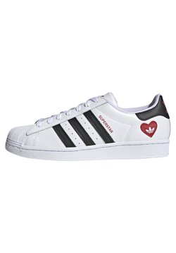 adidas Originals - SUPERSTAR - Baskets basses - ftwr white/core black/scarlet