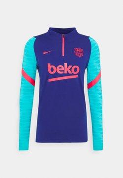 Nike Performance - FC BARCELONA DRY - Squadra - deep royal blue/lt fusion red