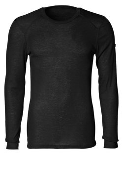 ODLO - CREW NECK WARM - Camiseta interior - black
